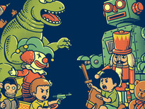 Toys War T-Shirt Design by