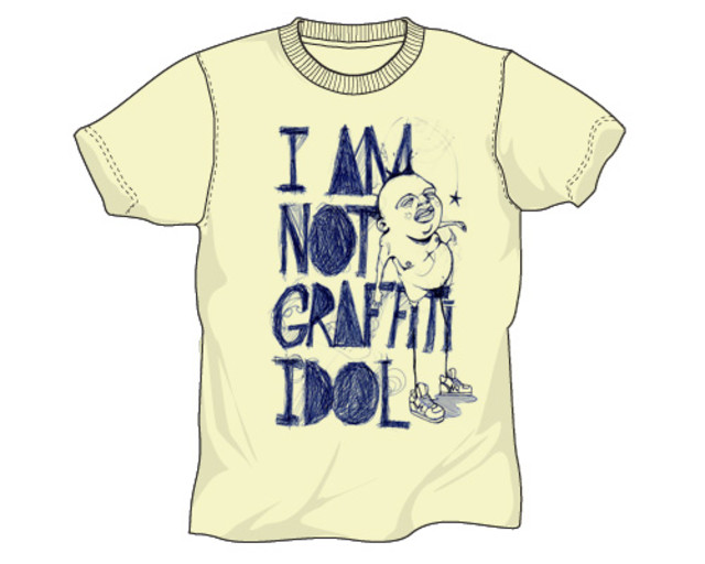 I´m not graffiti idol
