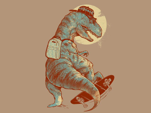 I Was A Teenage T.Rex