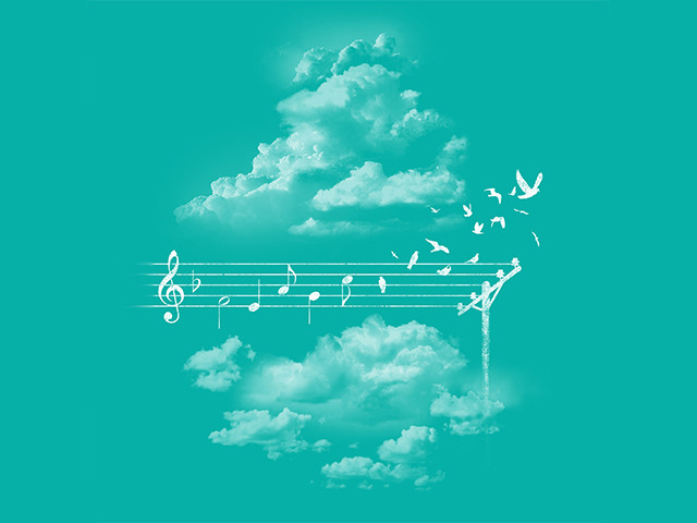 Music Gives Wings...