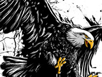 eagle T-Shirt Design by