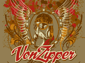 Vintage Von Zipper by Kahia