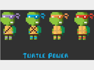 Turtle Power by greatskybear