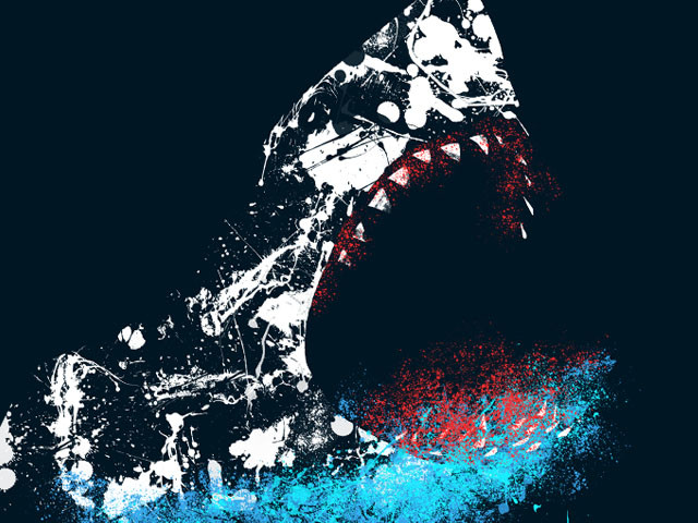 Splatter Shark