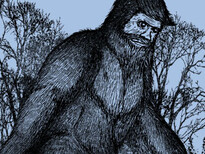 Bigfoot New Sneaker T-Shirt Design by