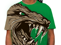 Furious Beast! T-Shirt Design by