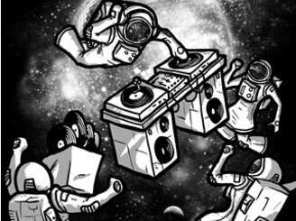 Intergalactic Dance Party by biotwist