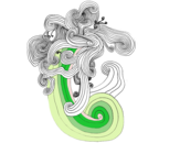 Chameleon  Swirly by BlackHat