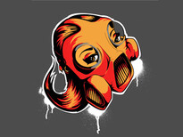 GMG Graffiti Masked Girls T-Shirt Design by