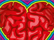 Brain, Heart and Colours by orangpalsu