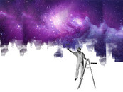 Painting the universe by kewan