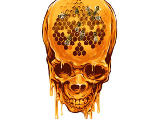 Yellow Skull by zakihamdani