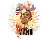 Obama is da man!! by apanapola
