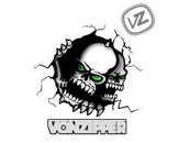 von zipper skulls by waldencwalden
