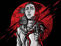 Girls with Gun T-Shirt Design by