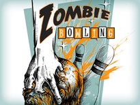 Zombie bowling T-Shirt Design by