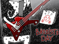 Bassist's day T-Shirt Design by