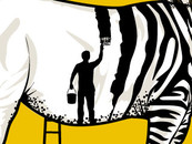 Zebra Painter by opiku