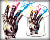 Mechanihand CMYK by BeeryMethod