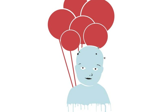 BLUE BABY - RED BALLOON