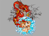 Wind and Water T-Shirt Design by