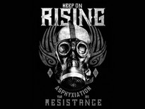 KEEP ON RISING T-Shirt Design by