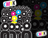 CMYK Crowd by SaLoMuN