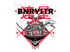 Divine Intervention X BNRYSTR T-Shirt Design by
