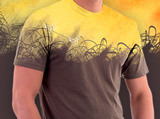 expressive lines T-Shirt Design by