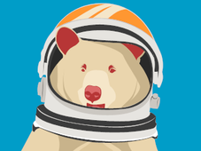 AstroBear T-Shirt Design by