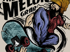 The Melon Grab T-Shirt Design by