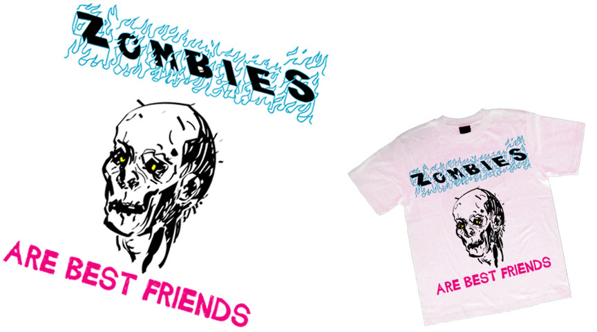 Zombie are best friends 3