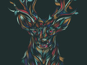 WILD DEER by dandingeroz