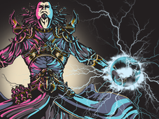 Wizard in action T-Shirt Design by