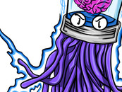 Brain Jellyfish by Zetaeteone