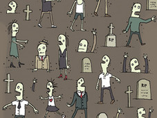 Adorned Of The Dead T-Shirt Design by