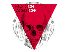 Music On, World Off T-Shirt Design by