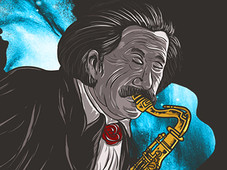 Cosmic Symphony T-Shirt Design by