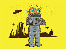 Robby Robot T-Shirt Design by