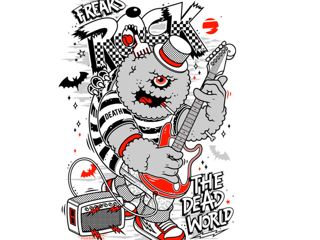 FREAKS ROCK THE DEAD WORLD!