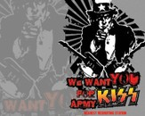 Uncle Sam Pulling for the KISS Army by mr_artisto
