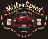 KISS: Mister Speed Kustoms by NationalRed