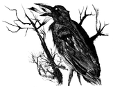 Crow ´n´ Tree by Vince