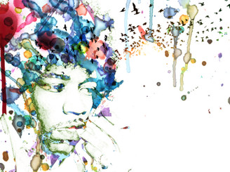 Hendrix Watercolour Haze by FOHG