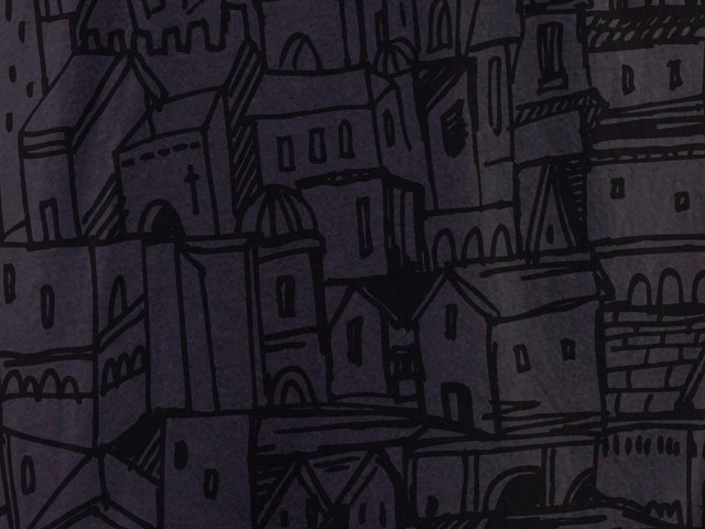 My city drawing