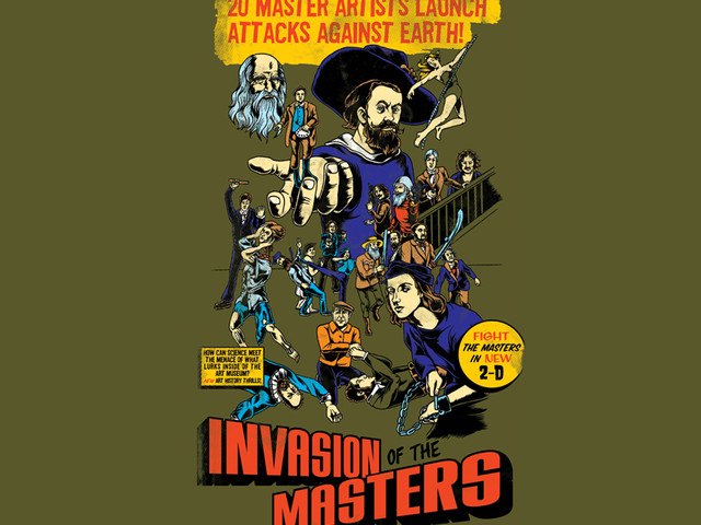 Invasion of the Masters!