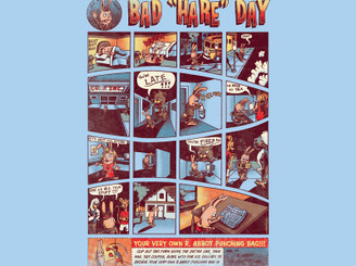 Bad Hare Day by polynothing