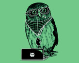 Smart Owl by Recycledwax