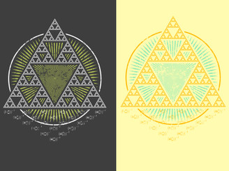 Sierpinski Triangle by vinbasshred