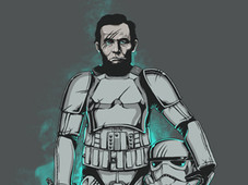 Jedi Lincoln T-Shirt Design by